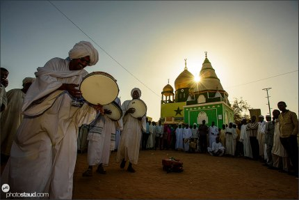 Dervish dancing, Khartoum, Sudan
