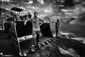 Coalfields in Jharia, India