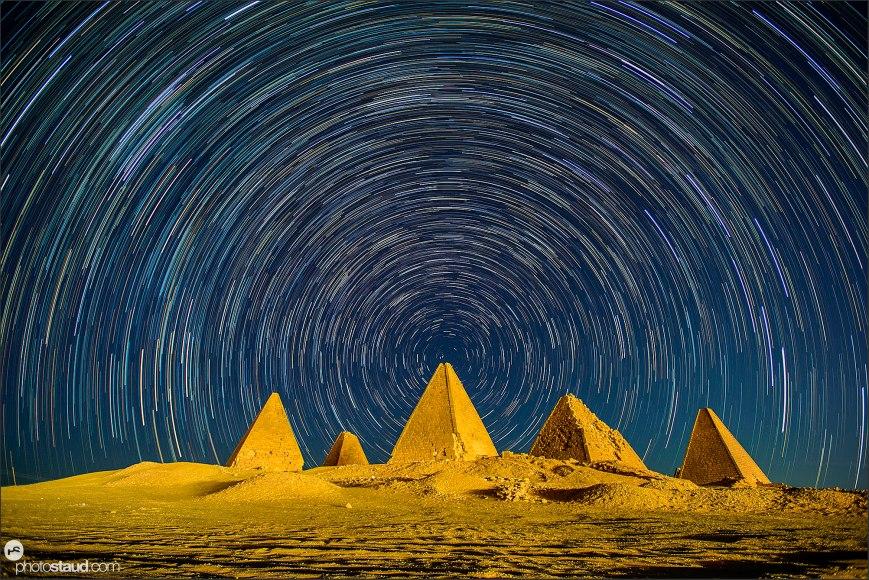 Sudan Jebel Barkla pyramids